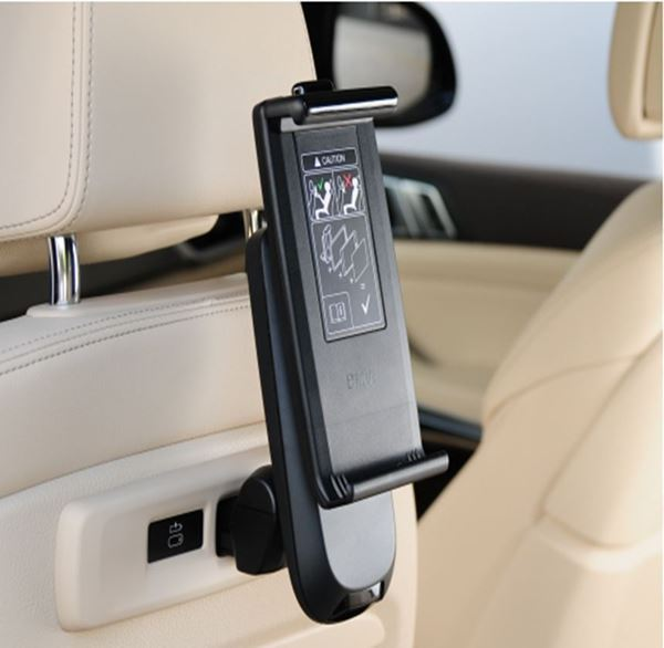 Picture of BMW UNIVERSAL HOLDER FOR TABLETS WITH BMW SAFETY CASE, TRAVEL & COMFORT SYSTEM
