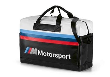 Picture of BMW M M/S TRAVEL BAG (BLACK/WHITE)