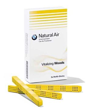 Picture of BMW NATURAL AIR INTERIOR FRESHENER, VITALIZING WOODS (REFILL KIT)