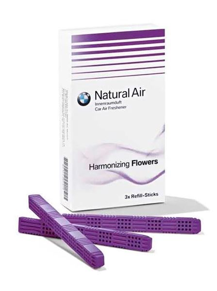 Picture of BMW NATURAL AIR INTERIOR FRESHENER, HARMONIZING FLOWERS (REFILL KIT)